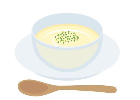 Soup cold potage