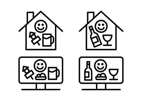Home drinking / online drinking