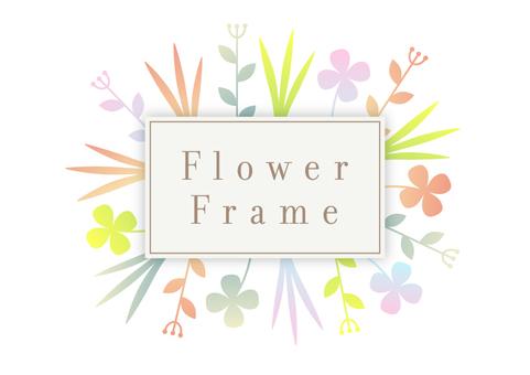 Flower frame 005