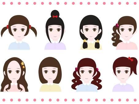 Hair color 3