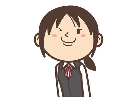 C015_ Receptionist Woman
