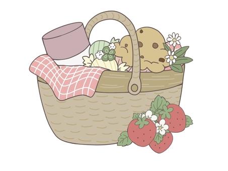 Picnic basket (spring)