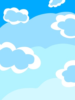 簡單的藍天