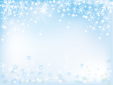 Snow Crystal _ Winter Background New 1