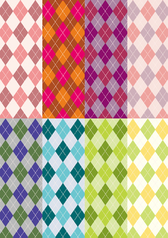 Pattern collection Argyle