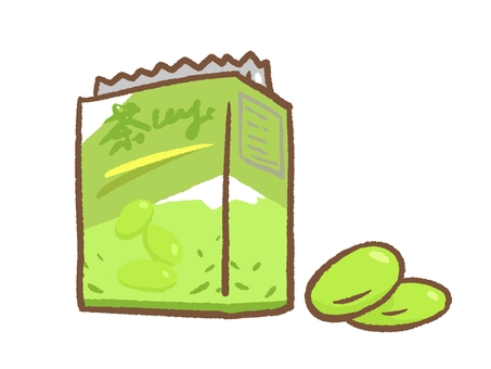 Matcha cookie box and contents