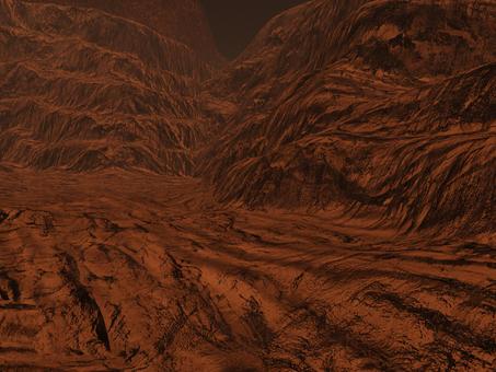 惑星荒野背景