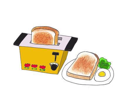 Showa's Home Appliances / Toaster