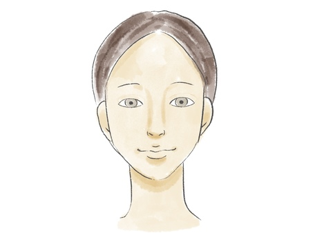 Front face woman