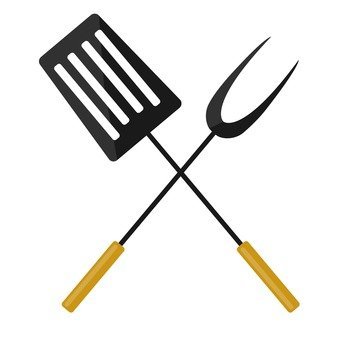 Turner and carving fork