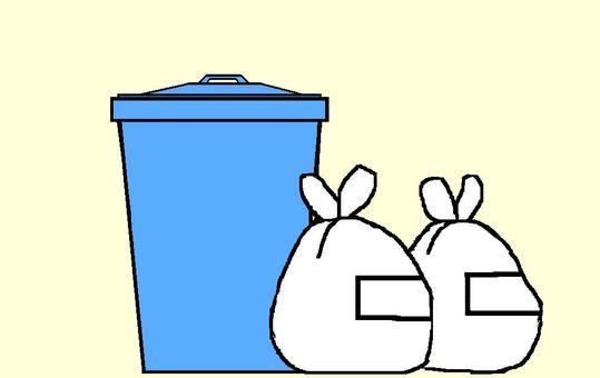 Trash bin 6