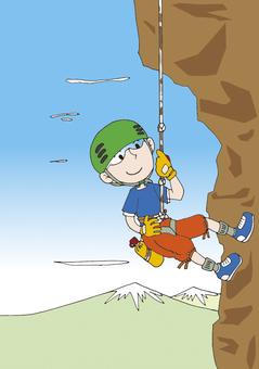 Rock climbing M