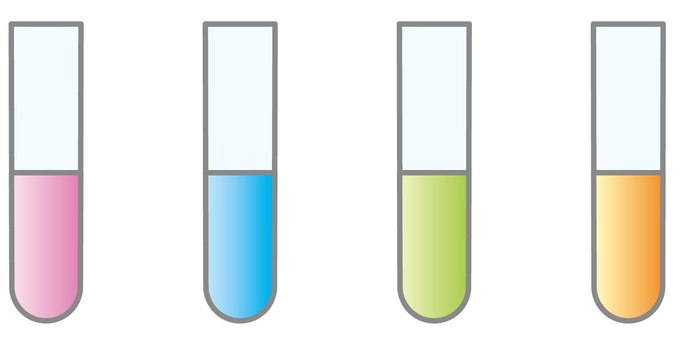 Test tube (4 colors)