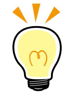 Light bulb material