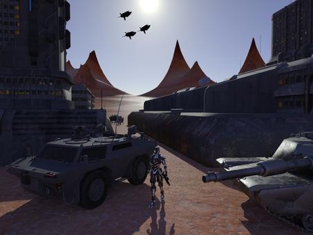 Planet Base Alpha Patrol