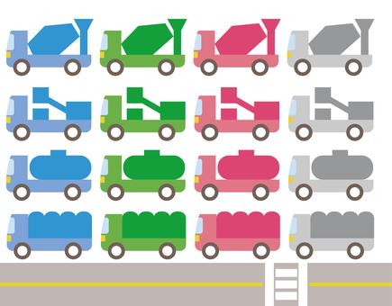 Truck Icon Set 3