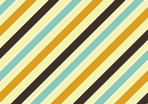 레트로 3 색 스트라이프