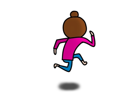 Run behind