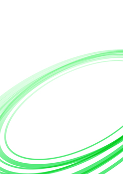 Simple curve background green