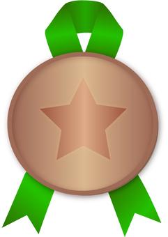 Bronze medal coin