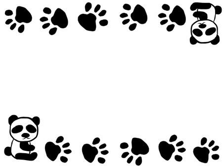 Panda Footprint Frame