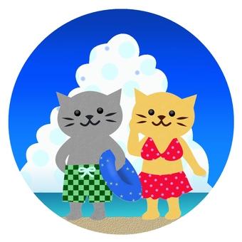 Swimsuit cat color 3