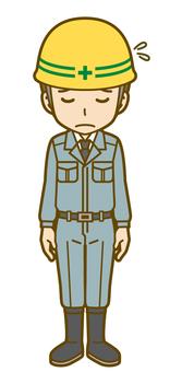 Male (worker): D_ bow 02FS