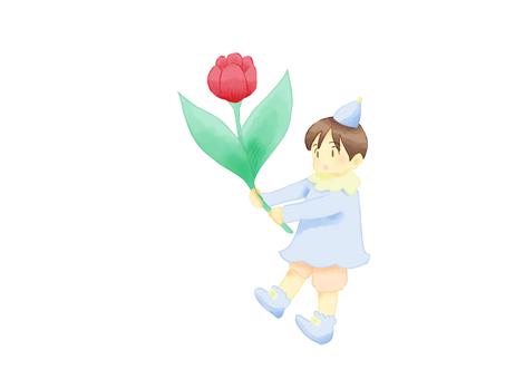 Tulip and dwarf