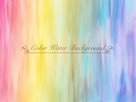 Water color background material