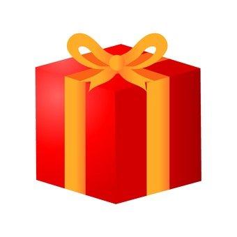 聖誕禮物(紅)