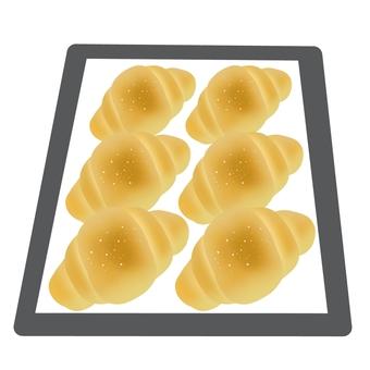 구운 소금 빵