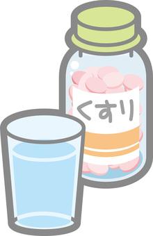 薬 bottle