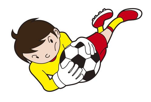 Goalkeeper Shonen 001