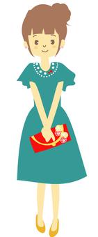 드레스 (정면)