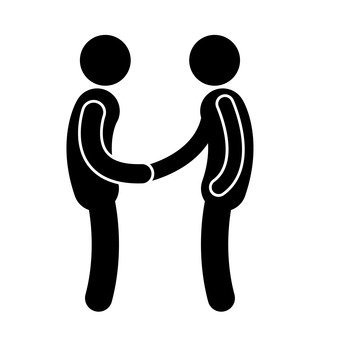 Pictogram (handshake)