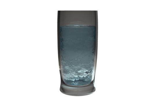 유리와 물 9 (배경 투명)