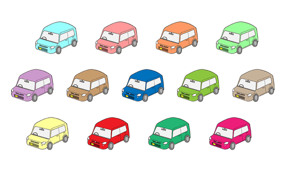 Mini car car car icon cute