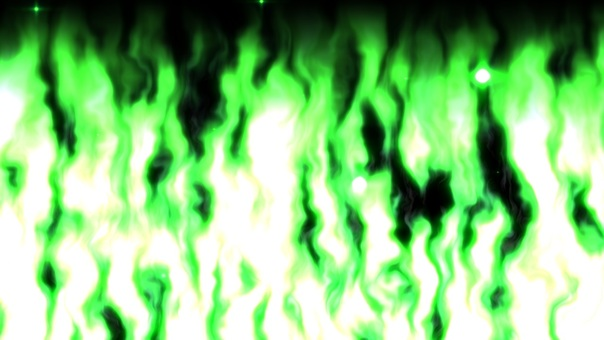 Flame (green)