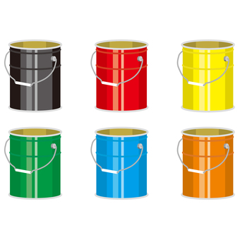 Pail can oil can