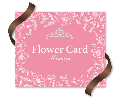 Women's Flower Card