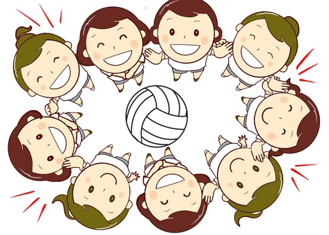 chacha volleyball team
