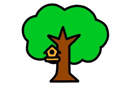 Tree nest box