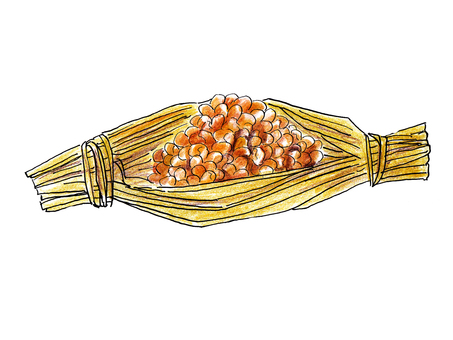Straw natto