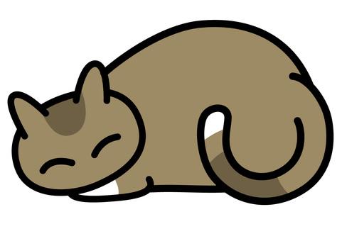 Sleep cat tea