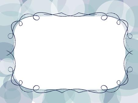 简单的框架(蓝色)