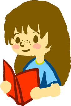読書する子供