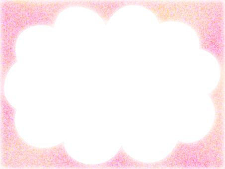 Gradient color frame