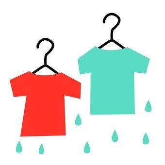 Hanger and T-shirt