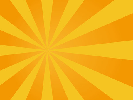 Concentration line Orange gradation