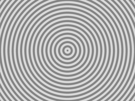 Newspaper headline style Concentric circle material